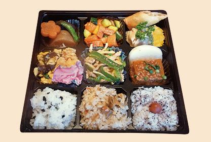 四川亭のお弁当